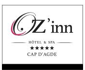Oz'inn Hotel & Spa Cap d'Agde Logo